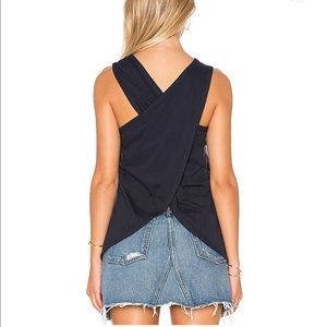 James perse wrap back tank size 3